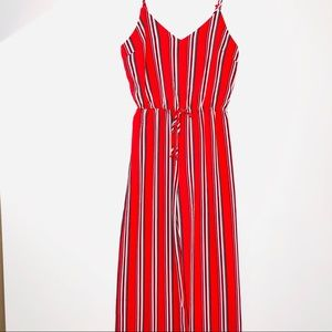 NWT Ambiance straps jumpsuit